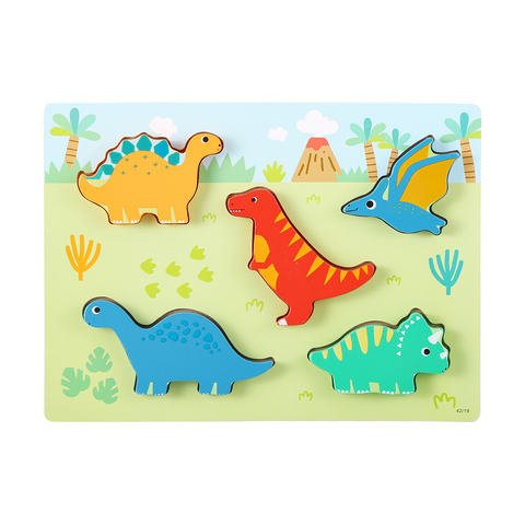Wooden Dino Puzzle
