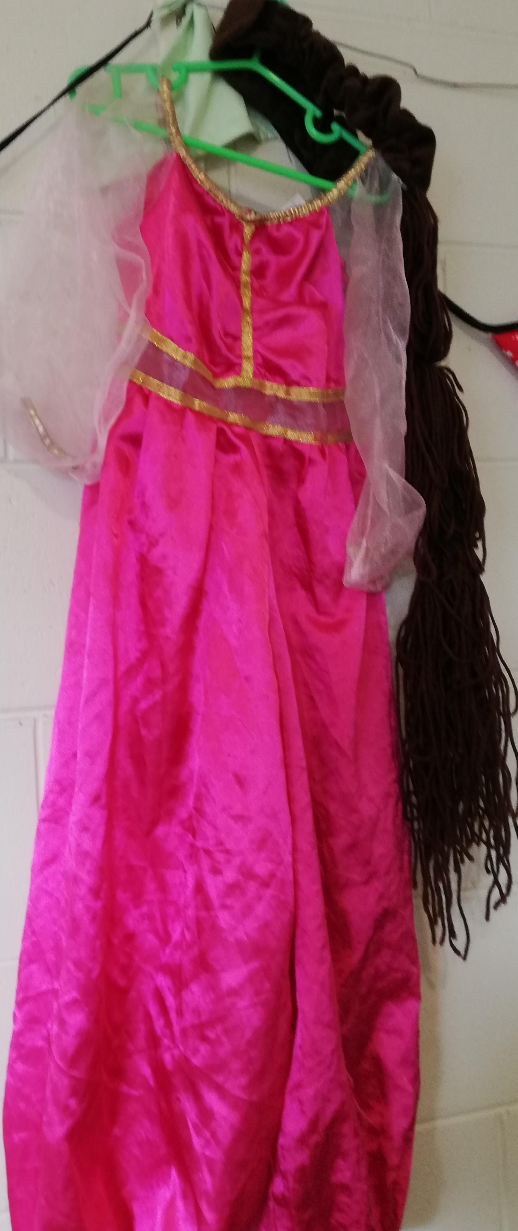 Princess Jasmine Dress Up.